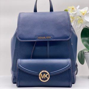Michael Kors Ginger Backpack and Wallet Set